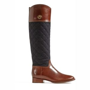 TORY BURCH Rosalie knee high riding boot